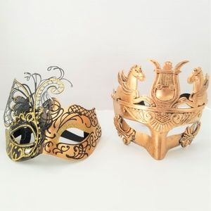 Other - Venetian Couple Masks for Masquerade Party Ball